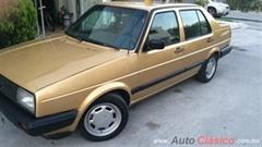 Día Nacional del Auto Antiguo Monterrey 2019 - Volkswagen Jetta A2 1989