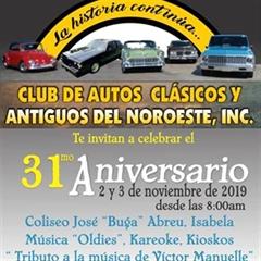 Más información de 31a Feria del Club de Autos Clasicos y Antiguos del Noroeste