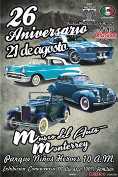 Más información de 26 Aniversario del Museo de Autos y Transporte de Monterrey