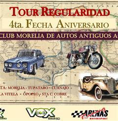 Más información de Tour Regularidad 4a Fecha Aniversario del Club Morelia de Autos Antiguos