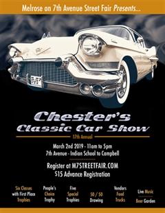 Más información de Chester's Classic Car Show - 17th Annual