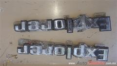 Emblemas Explorer de batea ford pick up 73-79