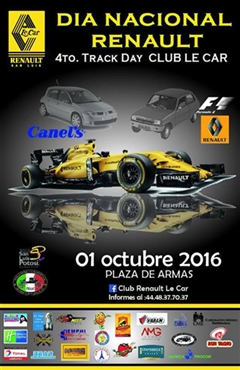 Más información de 4to. Track Day Club Le Car
