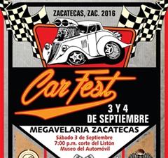 Más información de Car Fest Zacatecas