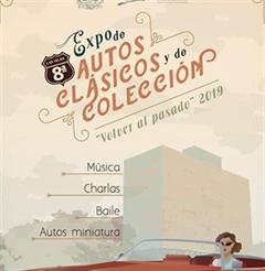 """Más información de 8a Expo de Autos Clásicos y de Colección """"Volver al Pasado"""" 2019"""