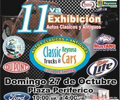 Más información de 11va Exhibición Autos Clásicos y Antiguos - Reynosa