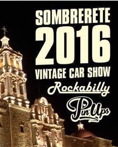 Más información de Vintage Car Show Sombrerete 2016