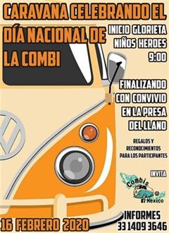 Caravana Celebrando el Día Nacional de la Combi 2020