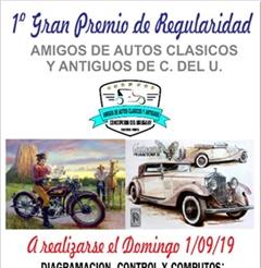 Más información de 1er Gran Premio de Regularidad Amigos de Autos Clásicos y Antiguos de C. del U.