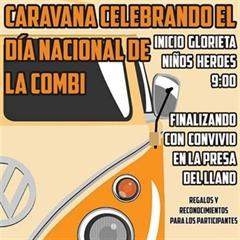 Más información de Caravana Celebrando el Día Nacional de la Combi 2020