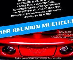 Más información de 1er Reunión Multiclub - Mazatlán