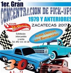 Más información de 1er Gran Concentración de Pick-Ups Zacatecas