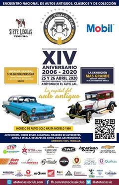 XIV Encuentro Nacional de Autos Antiguos Atotonilco