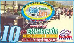 Más información de 10a Exhibición Autos Clásicos y Antiguos de Reynosa