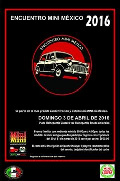 Más información de Encuentro Mini México 2016