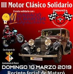 Más información de III Motor Clásico Solidario Maresme