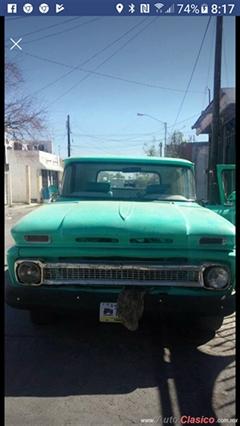 Día Nacional del Auto Antiguo Monterrey 2019 - ford pick up 1963