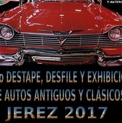 Más información de 10mo Destape, Desfile y Exhibición de Autos Antiguos y Clásicos Jerez 2017