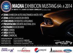 Más información de Magna Exhibición Mustang 64 1/2 a 2014