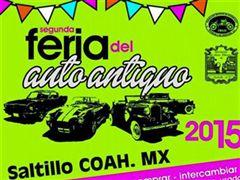 Más información de Segunda Feria del Auto Antiguo Saltillo