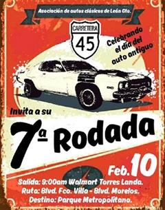 Más información de 7a Rodada Celebrando el Día del Auto Antiguo