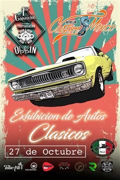 Auto Club Custom México Exhibición de Autos Clásicos