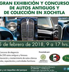Más información de Gran Exhibición y Concurso de Autos Antiguos y de Colección en Xochitla 2018
