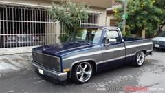 Día Nacional del Auto Antiguo Monterrey 2019 - Chevrolet Silverado 1983