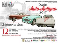 Día del Auto Antiguo Saltillo 2017