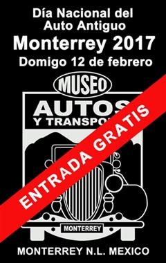 Día Nacional del Auto Antiguo Monterrey 2017