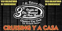 Más información de 3er Desfile del Día Nacional del Auto Antiguo Clásicos Car Club Cd. Victoria
