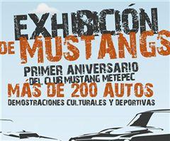 Más información de 1er Aniversario del Club Mustang Metepec
