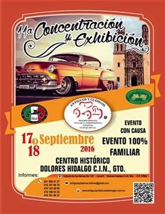 11a Concentración y Exhibición Antiguos y Clásicos Dolores Hidalgo