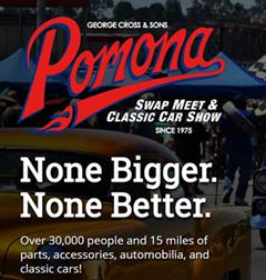 Más información de Pomona Swap Meet & Classic Car Show, Diciembre 2018