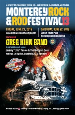 Más información de 13th Annual Monterey Rock & Rod Festival