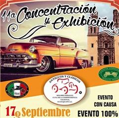 Más información de 11a Concentración y Exhibición Antiguos y Clásicos Dolores Hidalgo
