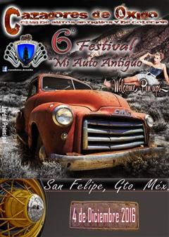 6o Festival Mi Auto Antiguo San Felipe Guanajuato