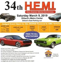 Más información de 34th Annual HEMI Show Phoenix