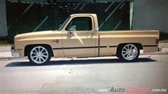 Día Nacional del Auto Antiguo Monterrey 2019 - chevrolet pick up 1988