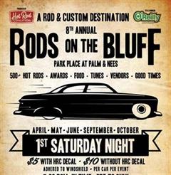 Más información de Rods on the Bluff May- Presented by: Hot Rod Coalition