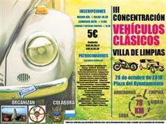 Más información de III Concentración Vwhiculos Clásicos Villa de Limpias