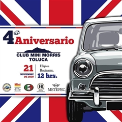 4o Aniversario Club Mini Morris Toluca
