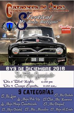 8o Festival Mi Auto Antiguo