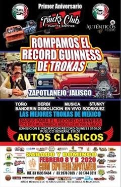Trucks Club Puente Grande 1er Aniversario Zapotlanejo Jalisco
