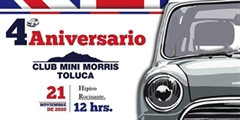 Más información de 4o Aniversario Club Mini Morris Toluca