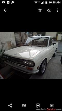Día Nacional del Auto Antiguo Monterrey 2019 - Datsun Pickup 521 1972