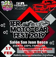 Más información de 1er Moto Car Fest Trancoso 2019