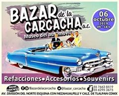 Bazar de la Carcacha - Museo del Automóvil - Octubre 2019
