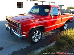 Día Nacional del Auto Antiguo Monterrey 2019 - Chevrolet Cheyenne 1989