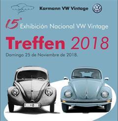 Más información de 15a Exhibición Nacional VW Vintage Treffen 2018